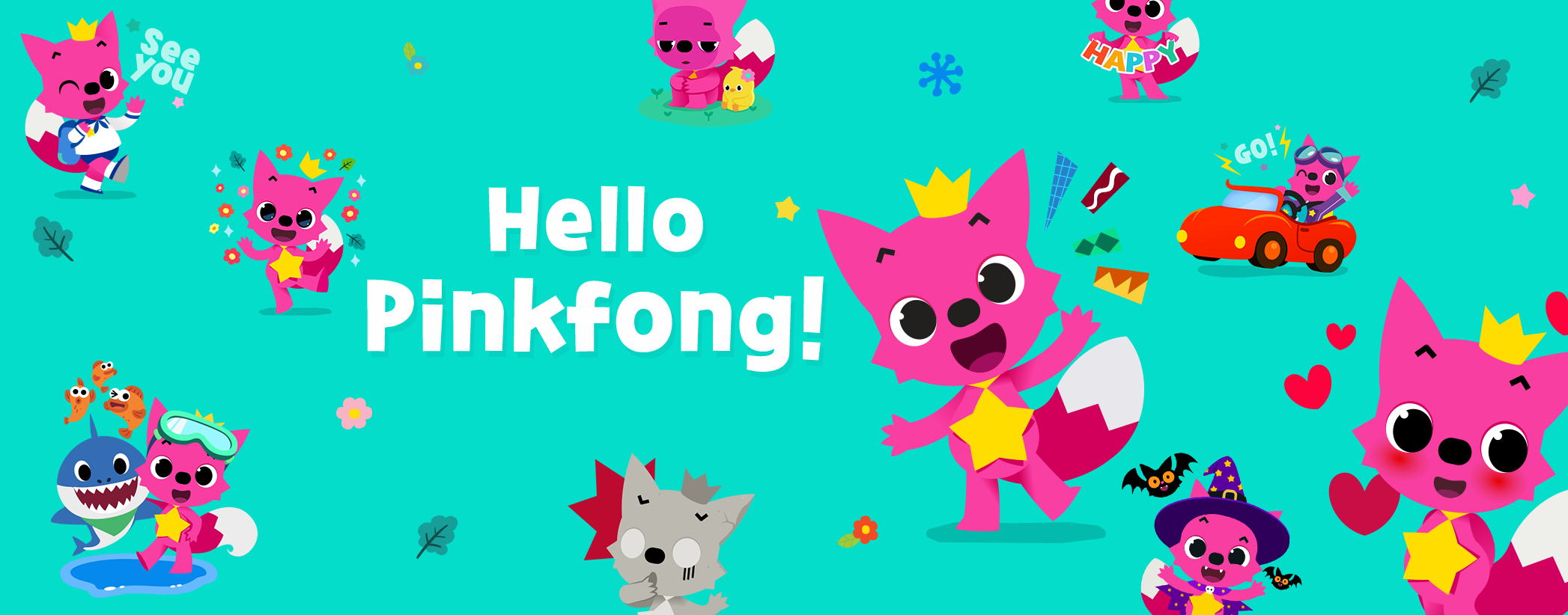 The Little Store >> Hello Pinkfong!